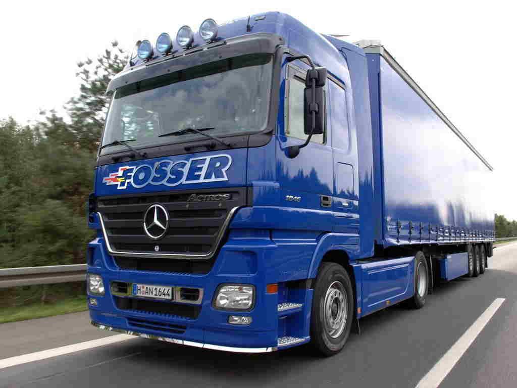 Перевозки грузов автомобильным транспортом